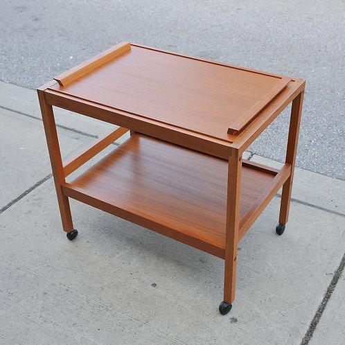 Danish Modern Teak Cart
