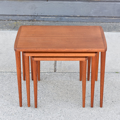 Danish Modern Teak Nesting Tables