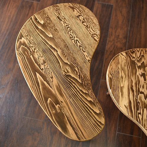 Solid Hemlock Side Table