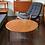Thumbnail: Danish Modern Teak Round Coffee Table by Elsteds Møbelfabrik