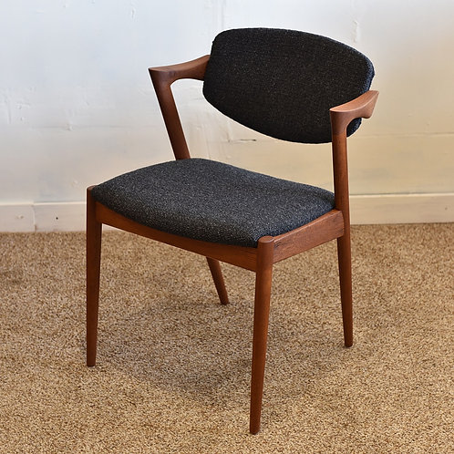 Danish Modern Model 42 Chair by Kai Kristiansen