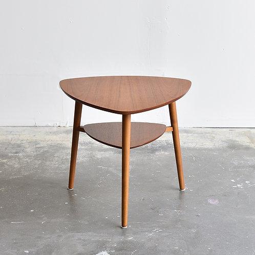 Vintage Mid Century Modern Triangle Side Table