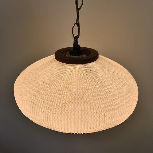 Vintage Oriental Lantern Bubble Hanging Lamp
