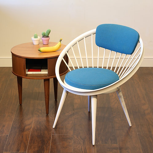 Circle Arm Chair by YNGVE EKSTRÖM for AV Arredamenti Contemporanei