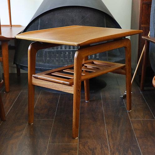 Vintage MCM 2-Tier Side Table