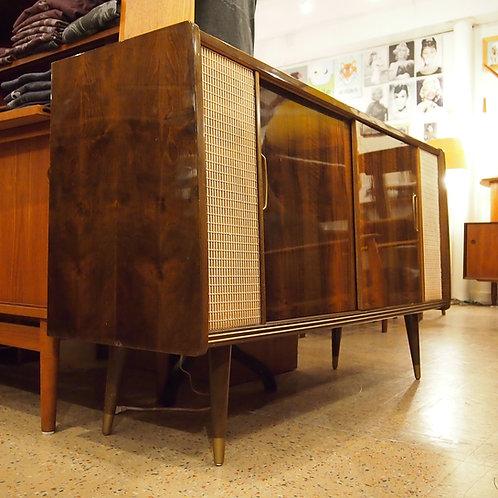 Vintage LOEWE OPTA Stereo Console Sideboard/Credenza