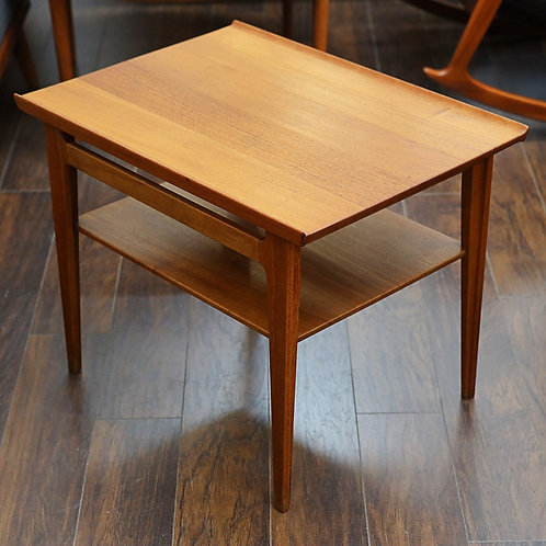 Danish SOLID Teak Side Table by Finn Juhl for France & Son