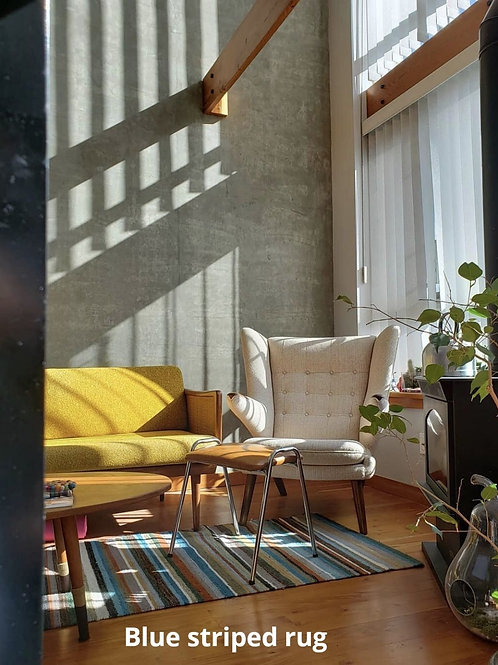 Fab rug, 100% Handwooven wool