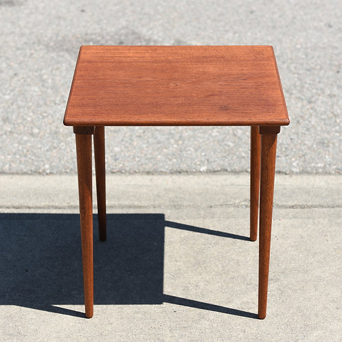 Adorable Swedish MCM Teak Side table