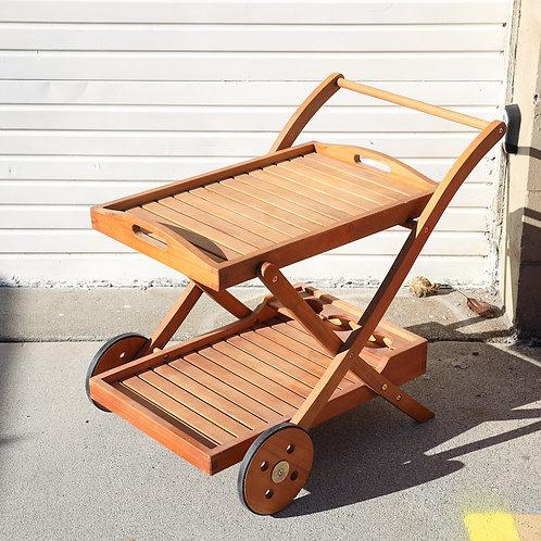 Outdoor/Indoor Serving Cart