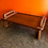 Thumbnail: Dansk bed tray, tiny coffee table. Solid teak
