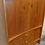 Thumbnail: MCM teak cabinet, Unique bow front