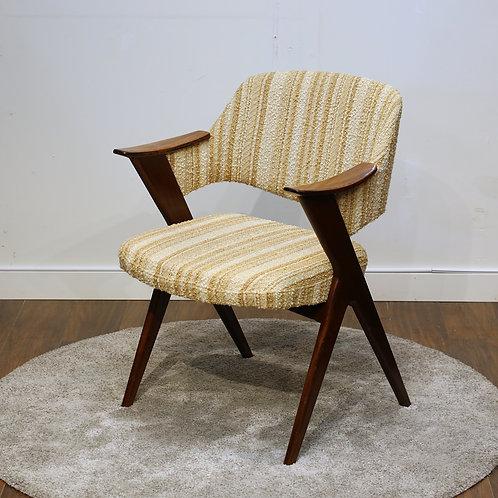 "Mid-Century Modern Rosewood ""Blinken"" Chair by Rastad & Relling"