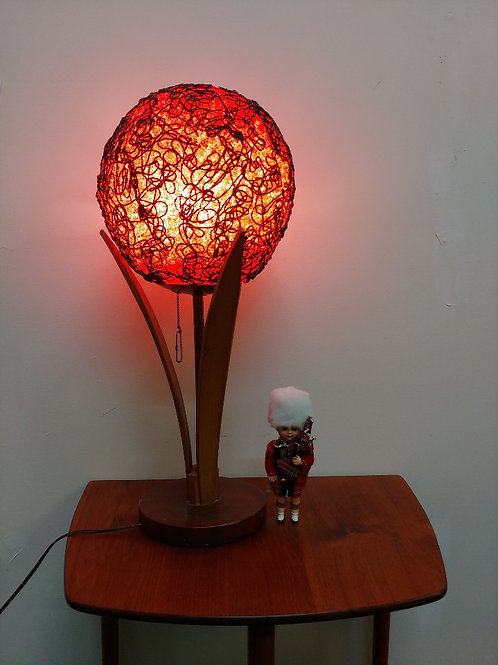 """25%OFF, Vintage Mid-Century """"Flower"""" Spaghetti Lamp"""