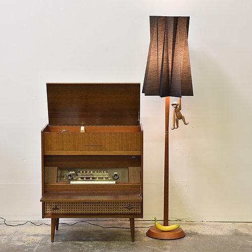 Vintage MCM Teak Floor Lamp