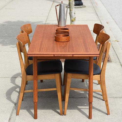 Rare Practical Teak Coffee / Dining Table by P.S. HEGGEN NORDFJORDEID, Norway