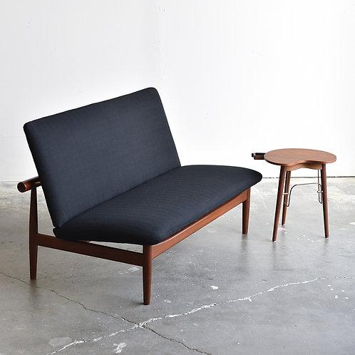 Danish Teak Model 137 Japan Settee by Finn Juhl for France & Son