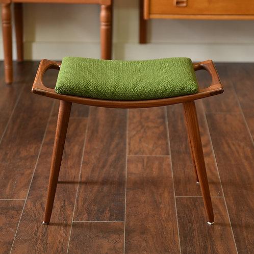Fab Danish teak Hans Wegner's style stool.