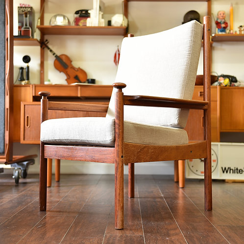 50%OFF, Vintage Norwegian Rosewood Lounge Chair by Torbjørn Afdal for Sandvik