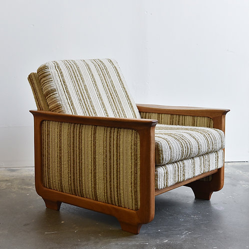 Mid-Century Modern Comfy Lounger by R. Huber & Co.
