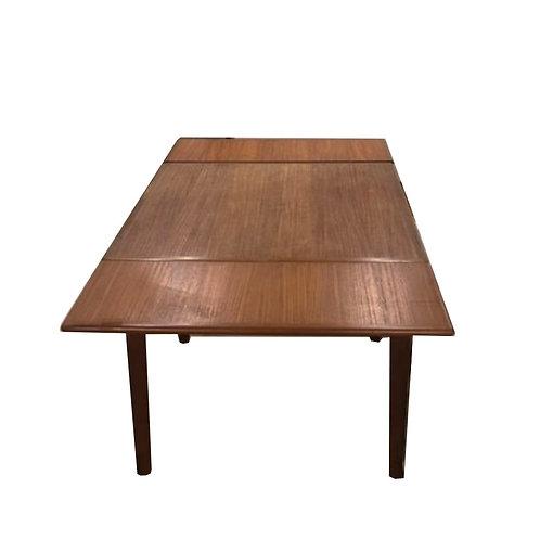 Danish MCM Teak Square Dining Table