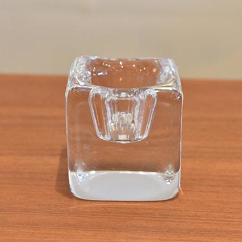 Hommegaard Murano glass clear glass art