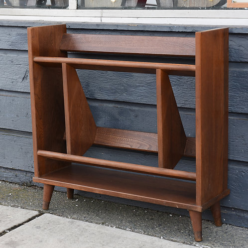 Adorable Vintage MCM Walnut Bookshelf