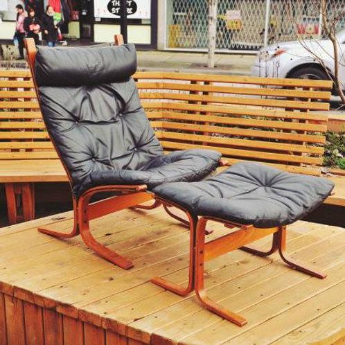Westnofa Siesta Lounge Chair+ Stool Set