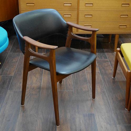 Norwegian Vintage Teak Armchair