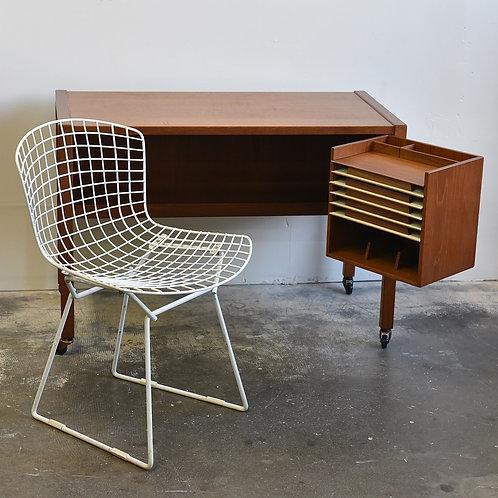 Fabulous and compact teak desk