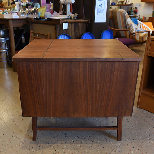 Vintage Side Table and Storage Cabinet