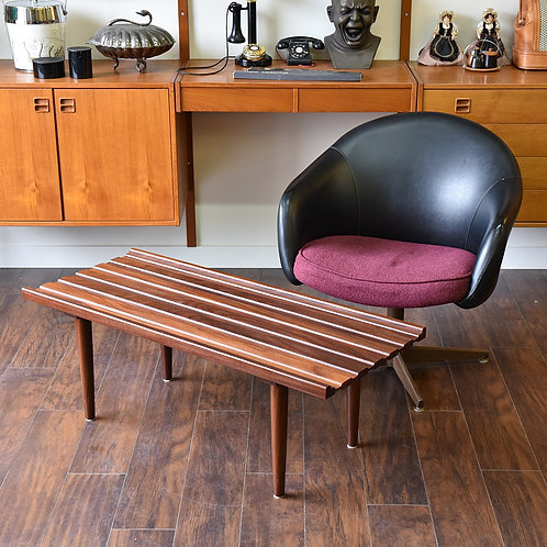 Vintage Afrormosia Coffee Table / Bench