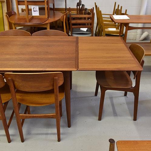 Quality Danish Modern Teak Dining Table