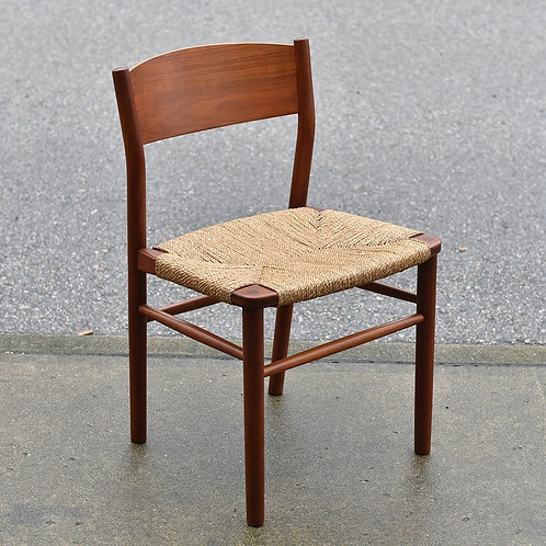Danish Modern Teak Side Chair Model 157 by Borge Mogensen for Soborg