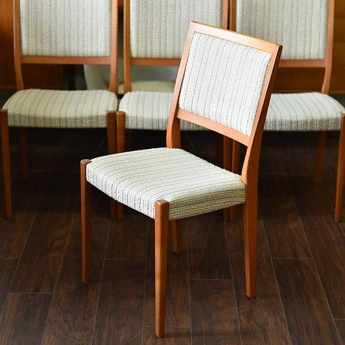 Pair, Swedish MCM Teak Dining Chairs