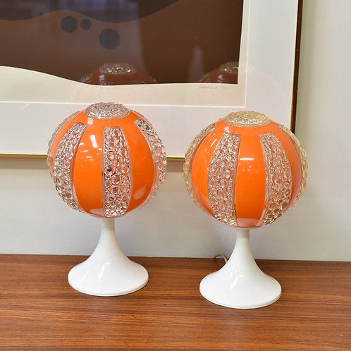 Pair of Cute Luigi Lamps/Bed Side Lamps