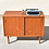 Thumbnail: Lyby Danish cabinet in compact size, unique legs