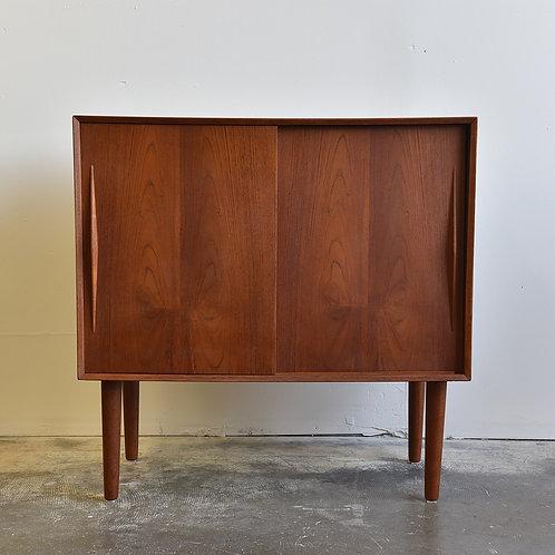 Compact Danish Teak Cabinet
