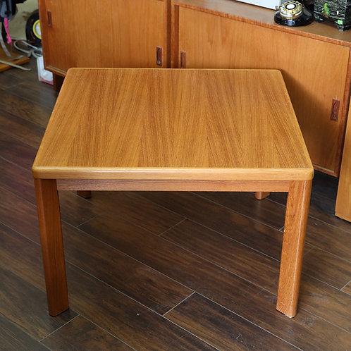 Vintage Danish Modern Teak Square Table