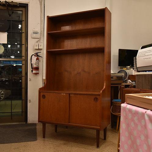 Vintage Mid Century Modern Teak Storage Unit