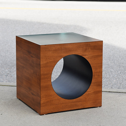 Vintage MCM Teak Side Table by RS Associates, Montreal