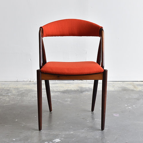 Danish Modern Rosewood Side Chair Model 31 by Kai Kristiansen