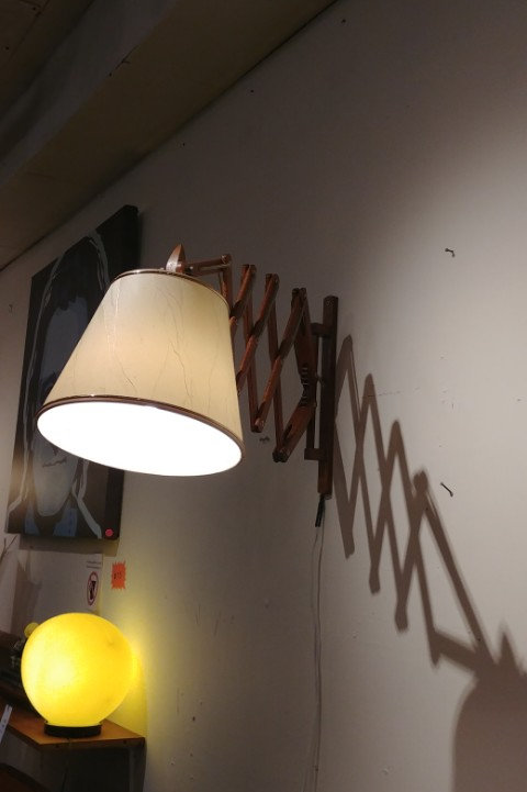 Unique Sax lamp, extending and cool looking, Le clint style