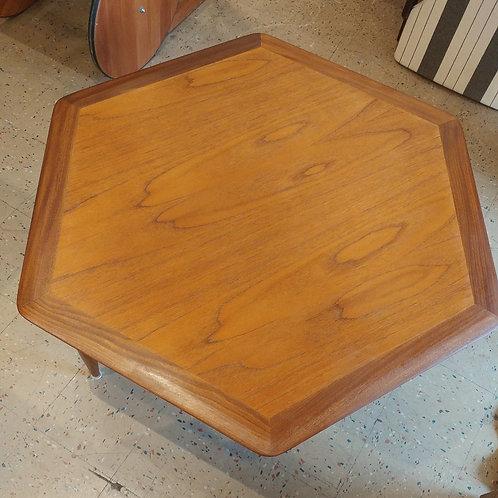 Vintage Octagon Coffee Table