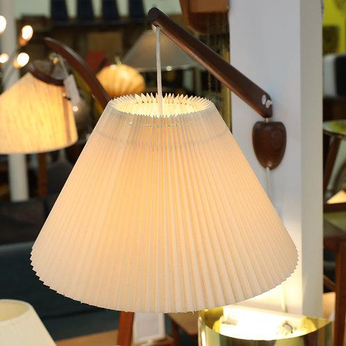 Vintage Teak Swing Arm Wall Mount Lamp