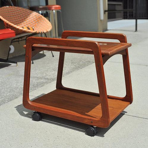 Danish Teak Tea Cart