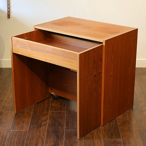 Vintage Compact Teak Desk