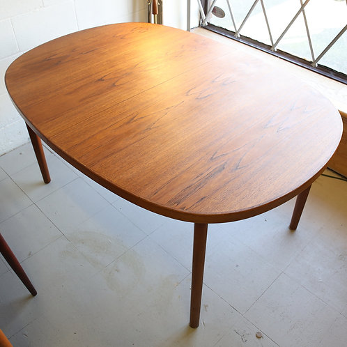 Mid-Century Modern Teak Dining Table