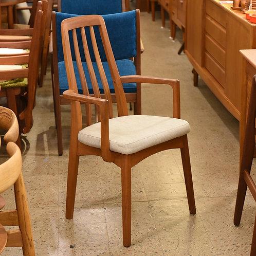 Danish Modern Teak Armchair by Benny Linden