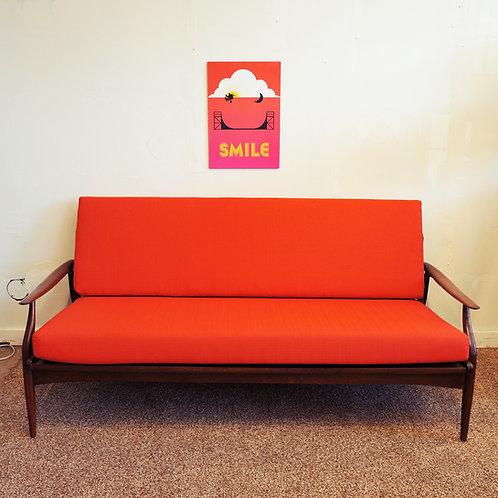 Mid Century Modern 3 Seats Sofa by RS Associates